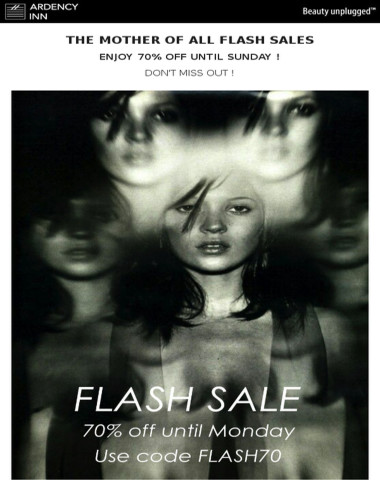 ⚫Flash Sale Alert ! 70% Off until Sunday !