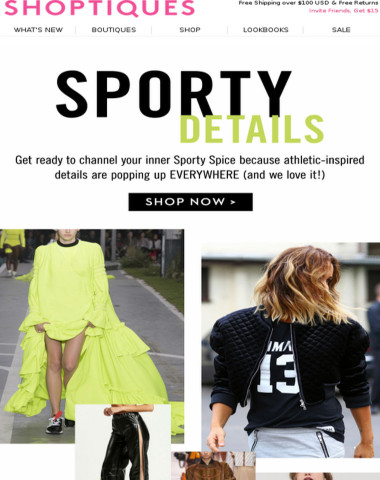 The It-Girl Trend: Sporty Details