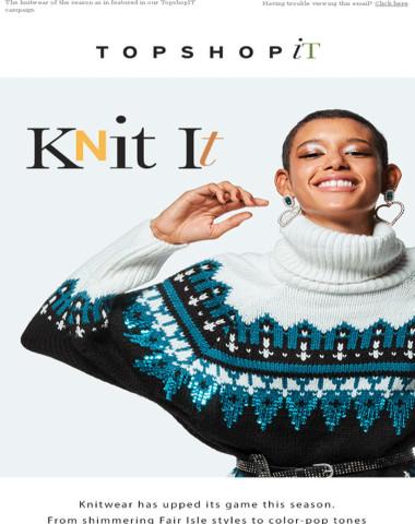 Ready to Knit IT?