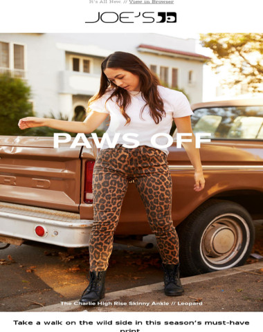 Just In: Leopard Pants