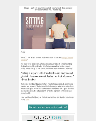 ???Sitting is a sport. Here's how to train for it.