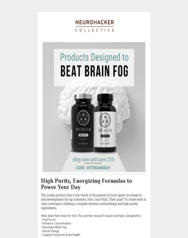 Designed to Beat Brain Fog