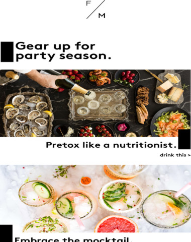 Pretox before you party