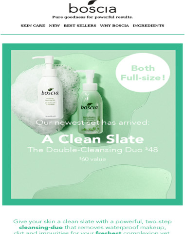 The Double-Cleansing Duo ?