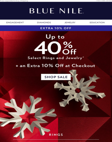 ? BIG NEWS: Save Up To 40% + Extra 10% Off
