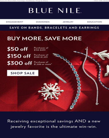 Ready The Sleigh: Up To $300 Off Featured Bracelets & Gifts