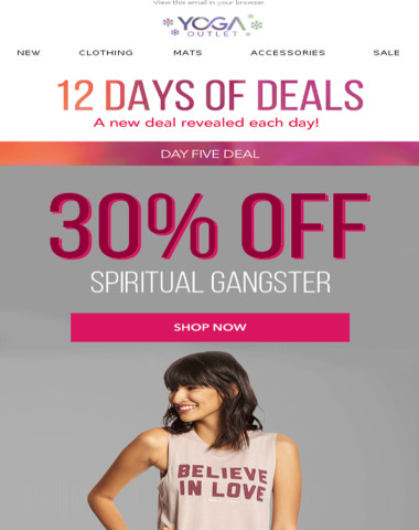 30% Off Spiritual Gangster + 25% Off Crystals
