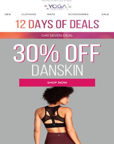 30% off Danskin + Deals on Graphic Tees