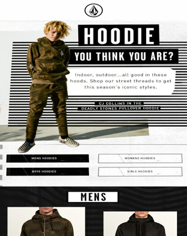 Hoodie you think you are?