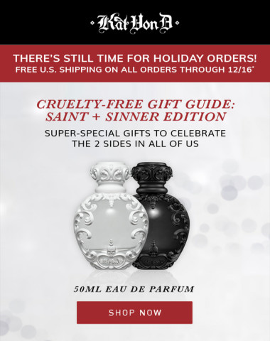 Cruelty-Free Gift Guide: Saint + Sinner Edition