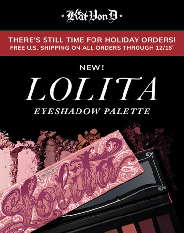 NEW! Lolita Eyeshadow Palette