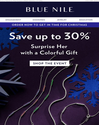 Daily Gift Guide: Up To 30% Off Colorful Holiday Jewelry & More