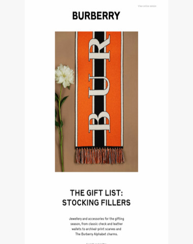 The Gift List: Stocking Fillers
