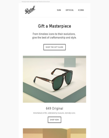 6bbd8231058f Persol - Cyber Monday Sale. Get 20% Off All Frames.