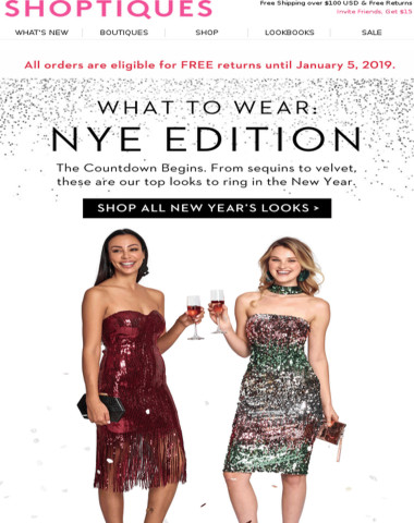 200+ NYE Party Perfect Pieces