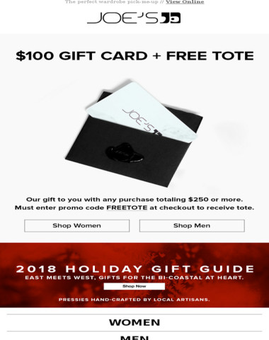 Get a $100 Gift Card Reward Just for Shopping