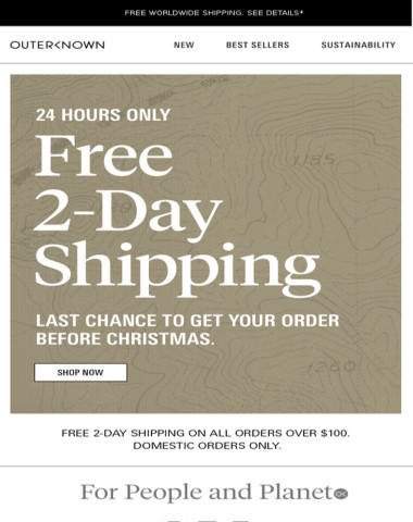 TODAY ONLY   Free 2-Day Shipping for Last-Minute Gifts