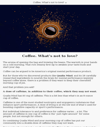 Love Coffee? You'll Want To Read This…