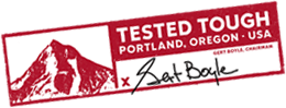 TESTED TOUGH PORTLAND. OREGON. USA