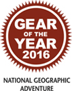 GEAR OF THE YEAR 2016 NATIONAL GEOGRAPHIC ADVENTURE