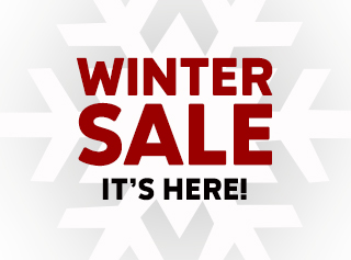 WINTER SALE IT'S HERE!