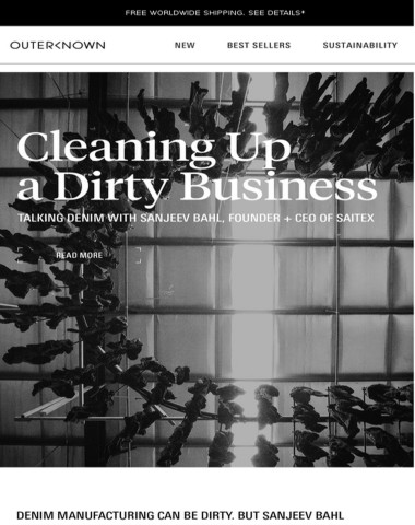 Journey   Making the World's Cleanest Denim