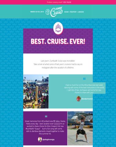 Wonder What Goes Down On Zumba Cruise?