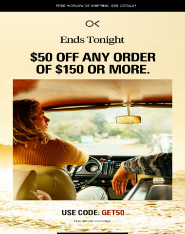 LAST CALL: $50 GIFT TO YOU