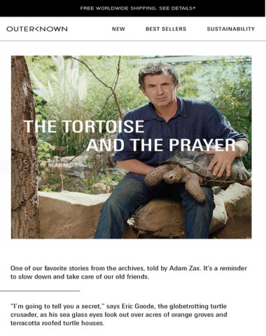Journey   The Tortoise and the Prayer
