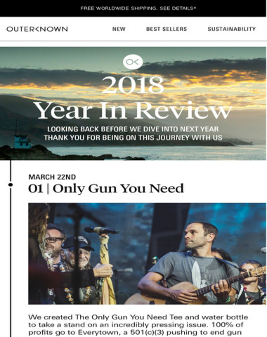 Looking Back. . . 2018 YEAR IN REVIEW