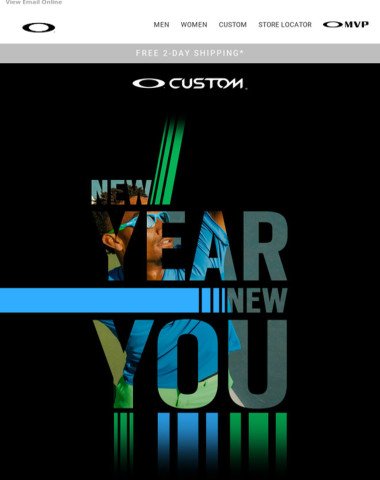 New Year. New Custom Frames. New You.