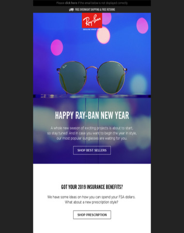 Happy Ray-Ban New Year!