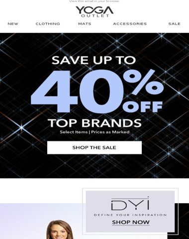 40% Off Onzie, DYI, Betsey Johnson + more top brands!
