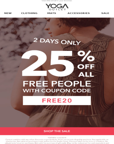 [2 DAYS ONLY] 25% off ALL Free People