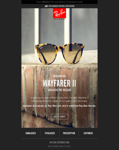 Introducing Wayfarer II // The first 2019 Pre-Release