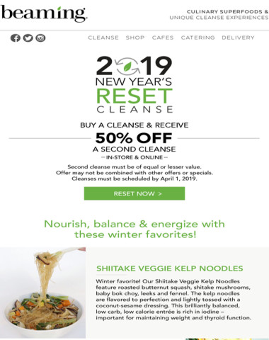 New Year's RESET Special + Winter Favorites