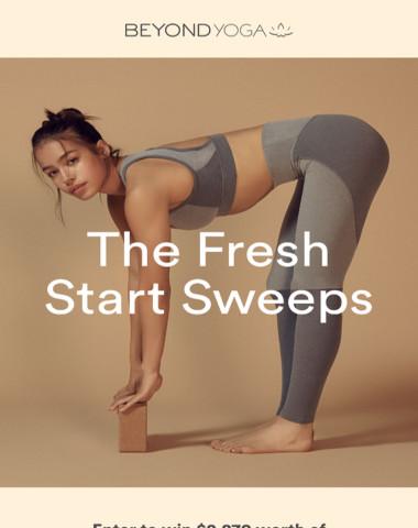 ENTER: Fresh Start Sweeps
