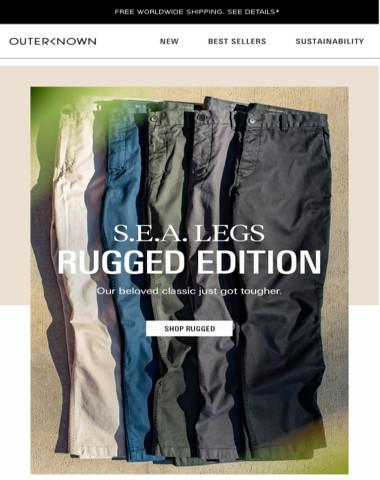 Introducing S.E.A. LEGS - Rugged