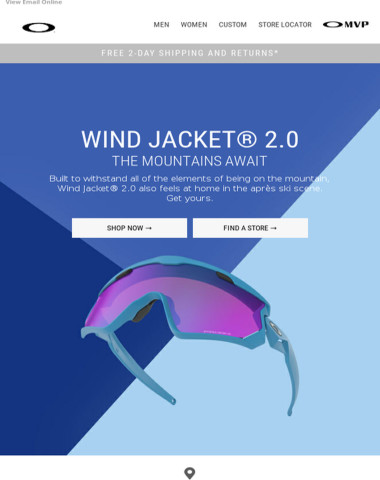 Wind Jacket® 2.0. For the slopes and beyond.