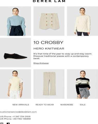 Knitwear Essentials | 10 Crosby