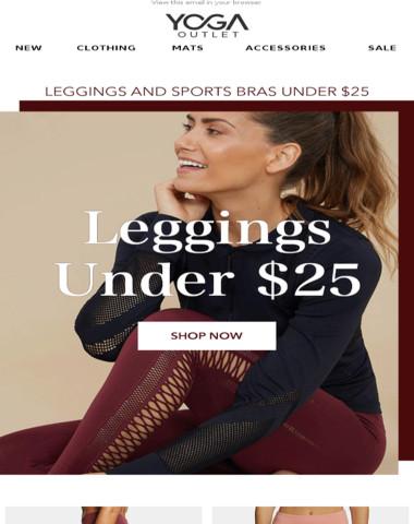 [UNDER $25] Leggings & Sports Bras