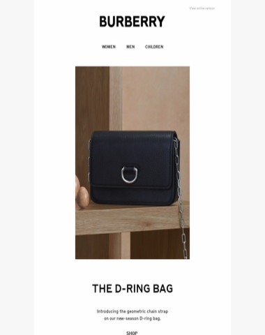cb681be4c5b8 Burberry - The D-ring Bag