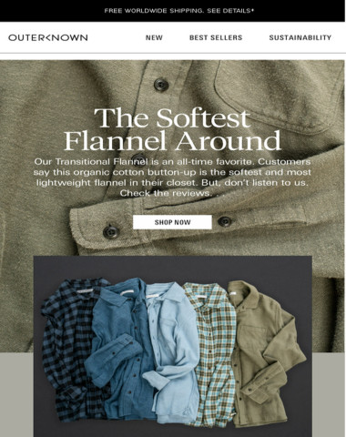 """""""The softest flannel I own."""""""