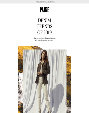 Spotlight // DENIM TRENDS (YOU NEED TO KNOW) + TRANSCEND KNIT