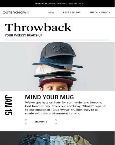 THROWBACK — your weekly recap