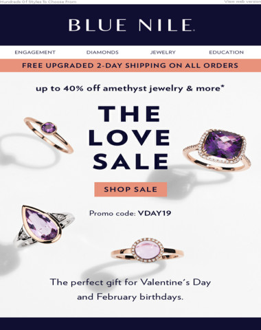 Valentine's Day Gifts Up To 40% Off