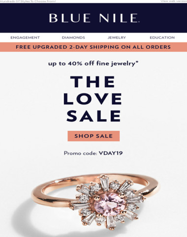 The Hint List: Up To 40% Off Diamond Jewelry & More