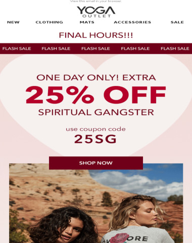 [LAST CHANCE] 25% Off Spiritual Gangster