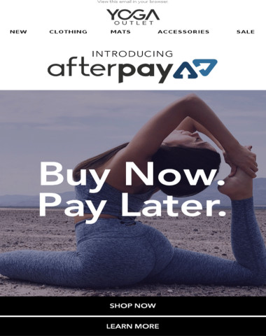 Buy NOW, Pay LATER! ?