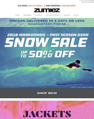 Survive The COLD // Jacket & Snow SALE
